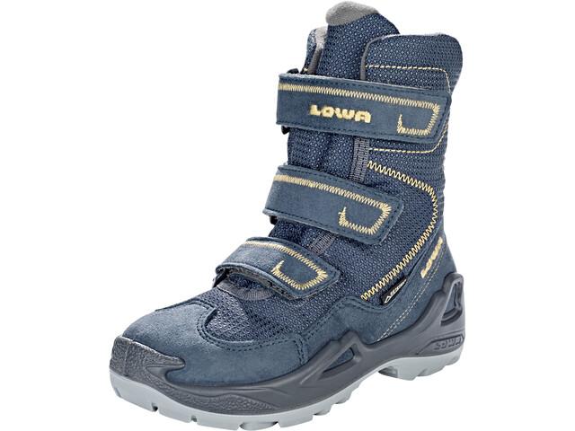 Lowa Milo GTX High Boots Kids, navy/ocker